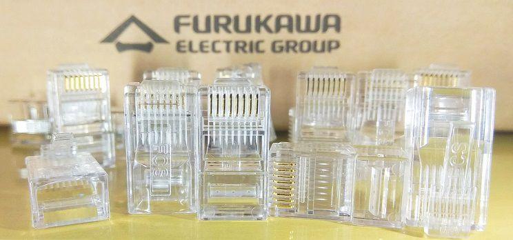 Conector de Rede RJ45 Cat5e Macho Furukawa Soho Plus - 1000 Unidades