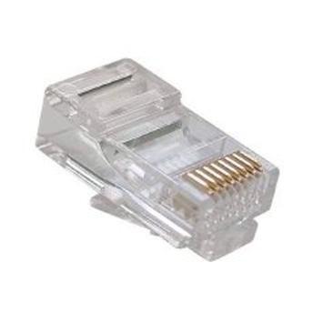 Conector RJ45 Cat 5e - C3Tech - Caixa c/ 100 Unidades