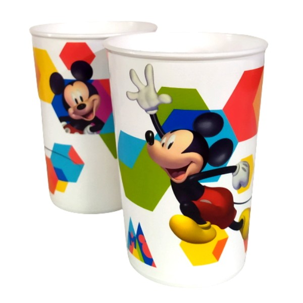 Copo Infantil do Mickey Mouse Disney 320ML Plasútil