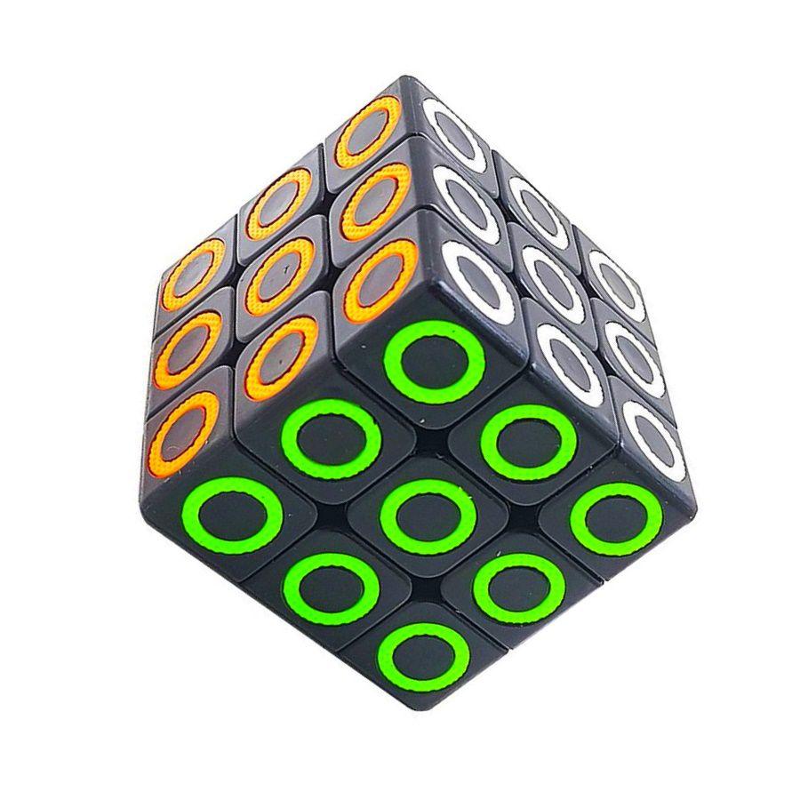 Cubo Mágico Tradicional Interativo Semi Profissional 3x3x3