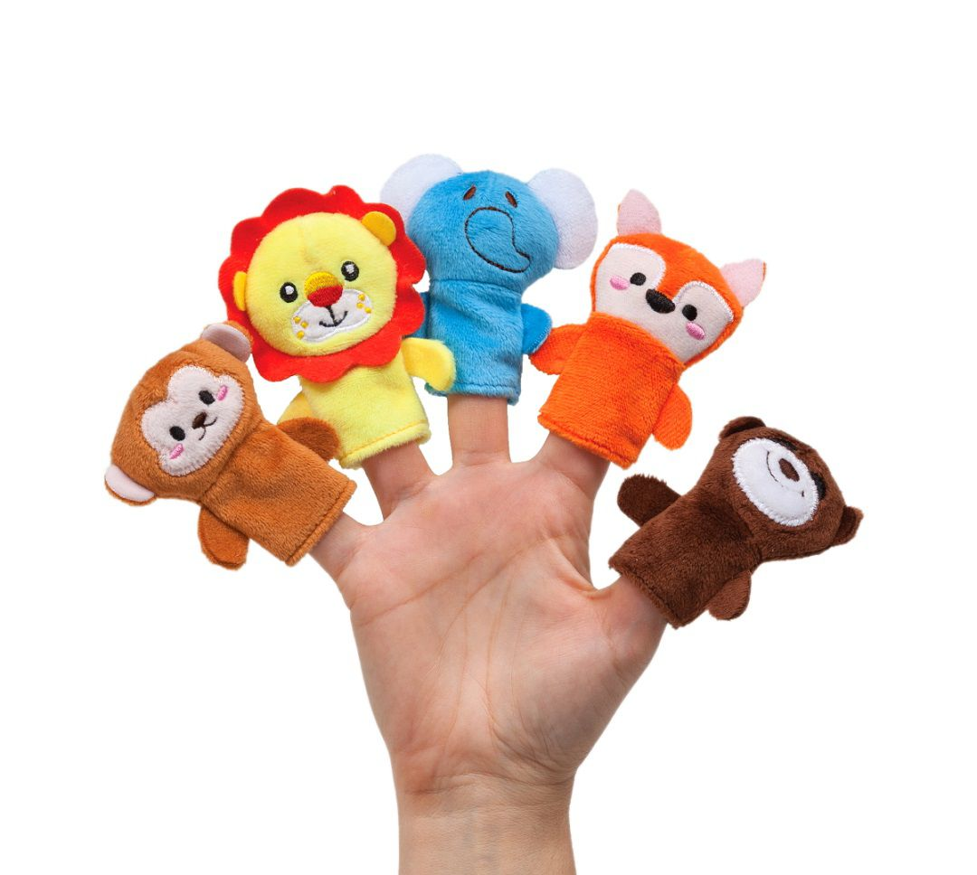 Dedoche Fantoche de Dedos Brinquedo Bebe Teatrinho de dedos