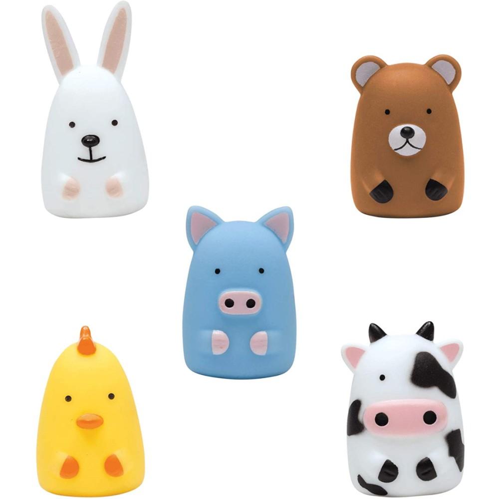 Dedoche Fantoche de Dedos Brinquedo Bebe Teatrinho dos Animaizinhos