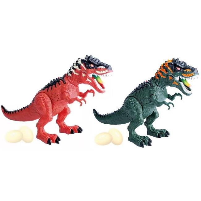 Dinossauro Tiranossauro Rex Luz Move Som Projeta imagens