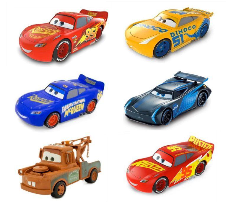 Disney Carros 3 Carrinho de Fricção Colecionável - 1 unidade
