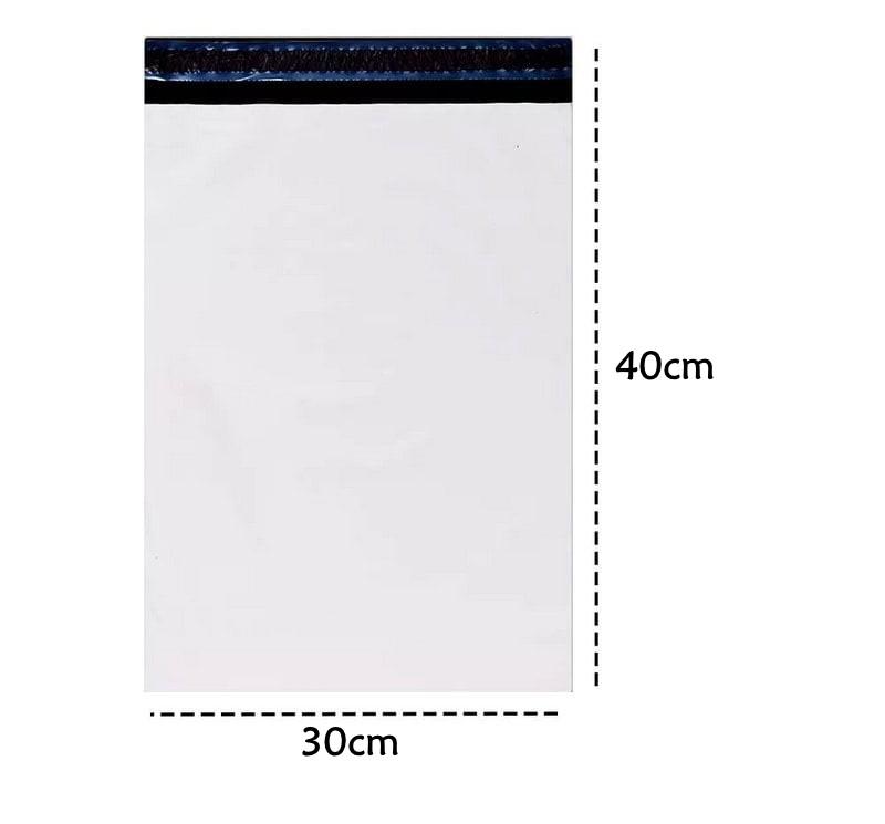 Envelope de Segurança E-commerce Ecológico Branco 30x40 - 250 und