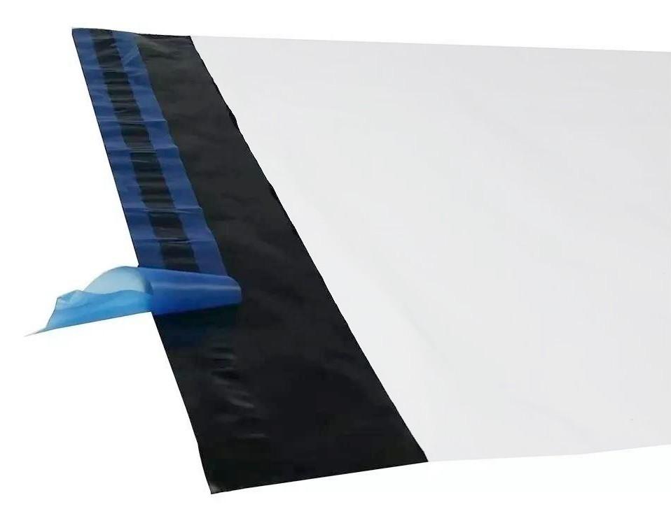 Envelope Saco de Segurança Ecommerce Correios Branco 30x40 - 100 unidades