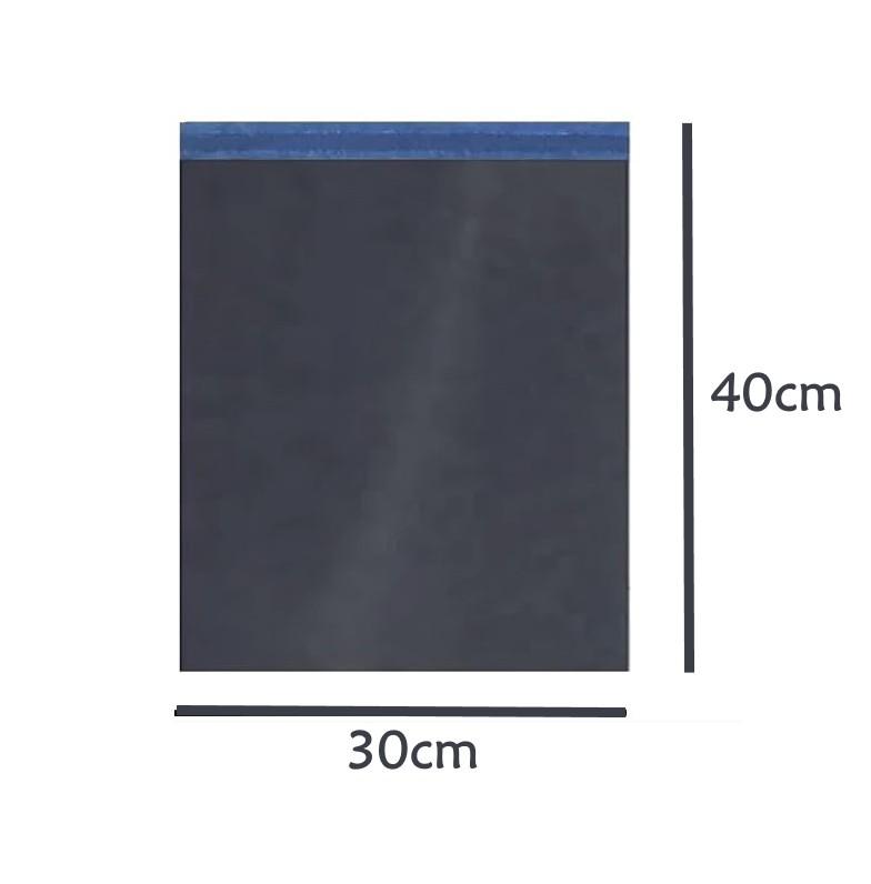 Envelope Saco de Segurança Ecommerce Correios Preto 30x40 - 100 unidades