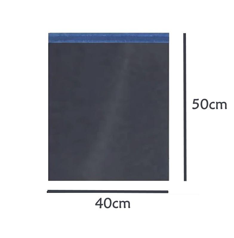 Envelope Saco de Segurança Ecommerce Correios Preto 40x50 - 500 unidades