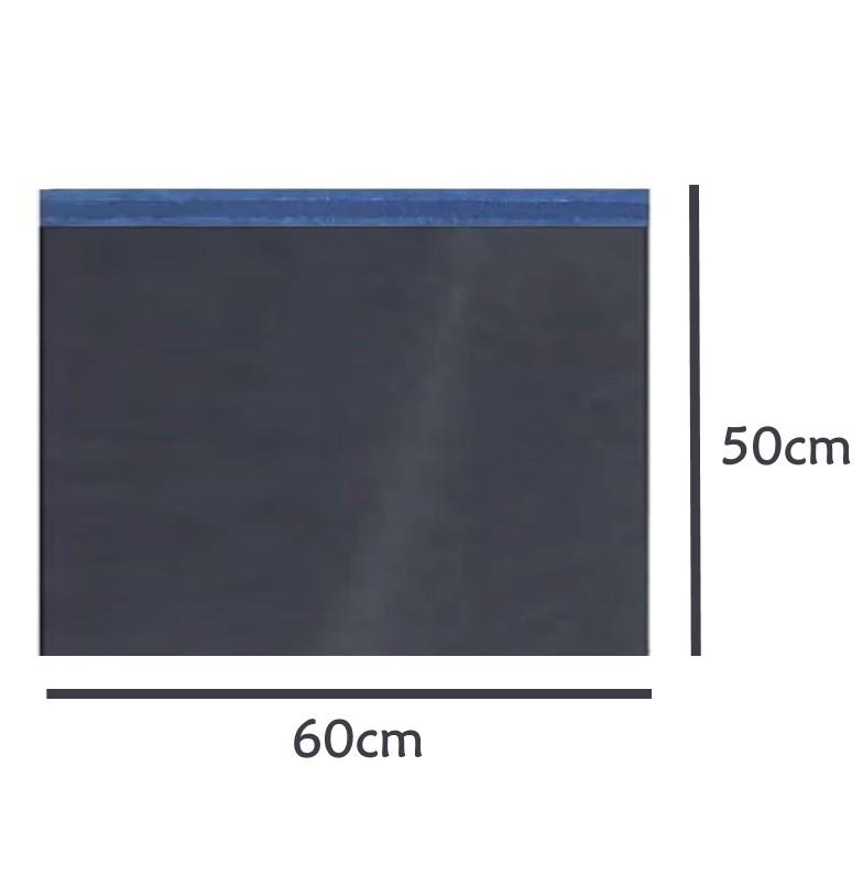Envelope Saco de Segurança Ecommerce Correios Preto 60x50 - 100 unidades