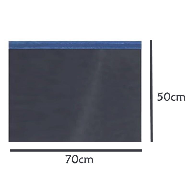 Envelope Saco de Segurança Ecommerce Correios Preto 70x50 - 500 unidades