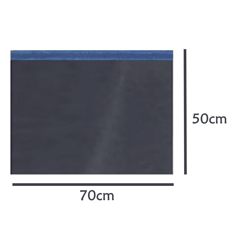 Envelope Saco de Segurança Ecommerce Correios Preto 70x50 - 50 unidades