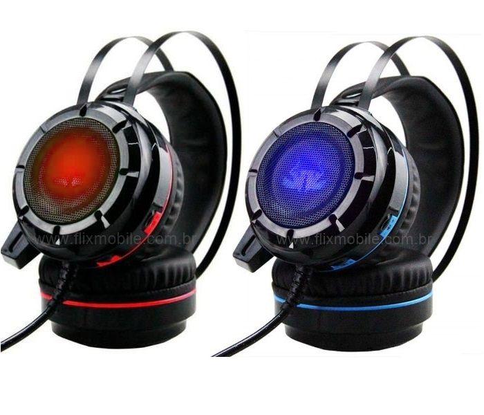 Fone de ouvido Headset Gamer Pro KP-417