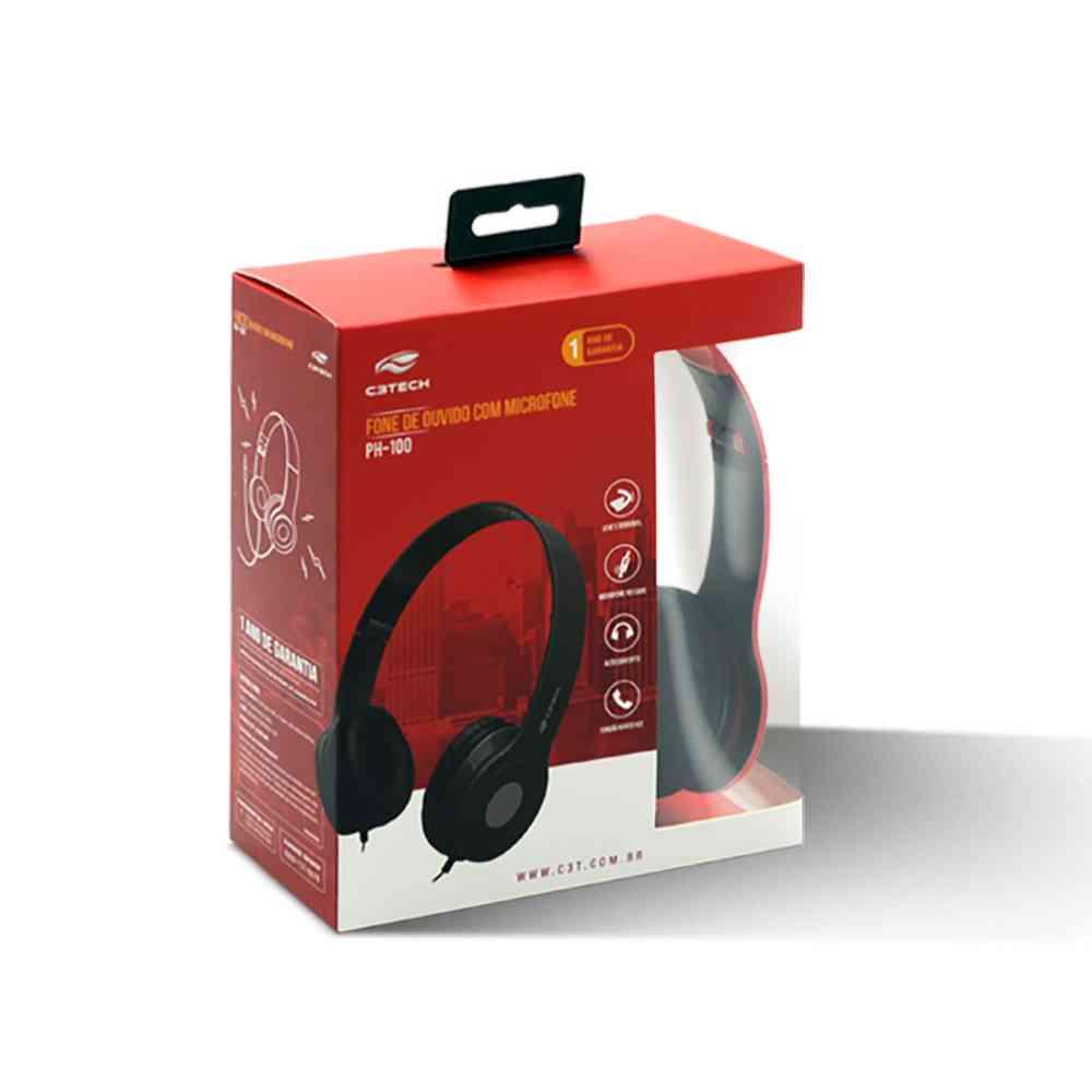 Fone para Celular Notebook PS4 e Xbox One com Microfone Aste Dobrável