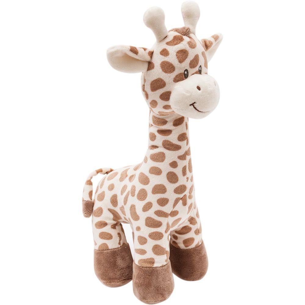 Girafinha de Pelúcia de 40cm para Crianças e Bebês acima de 3 Meses