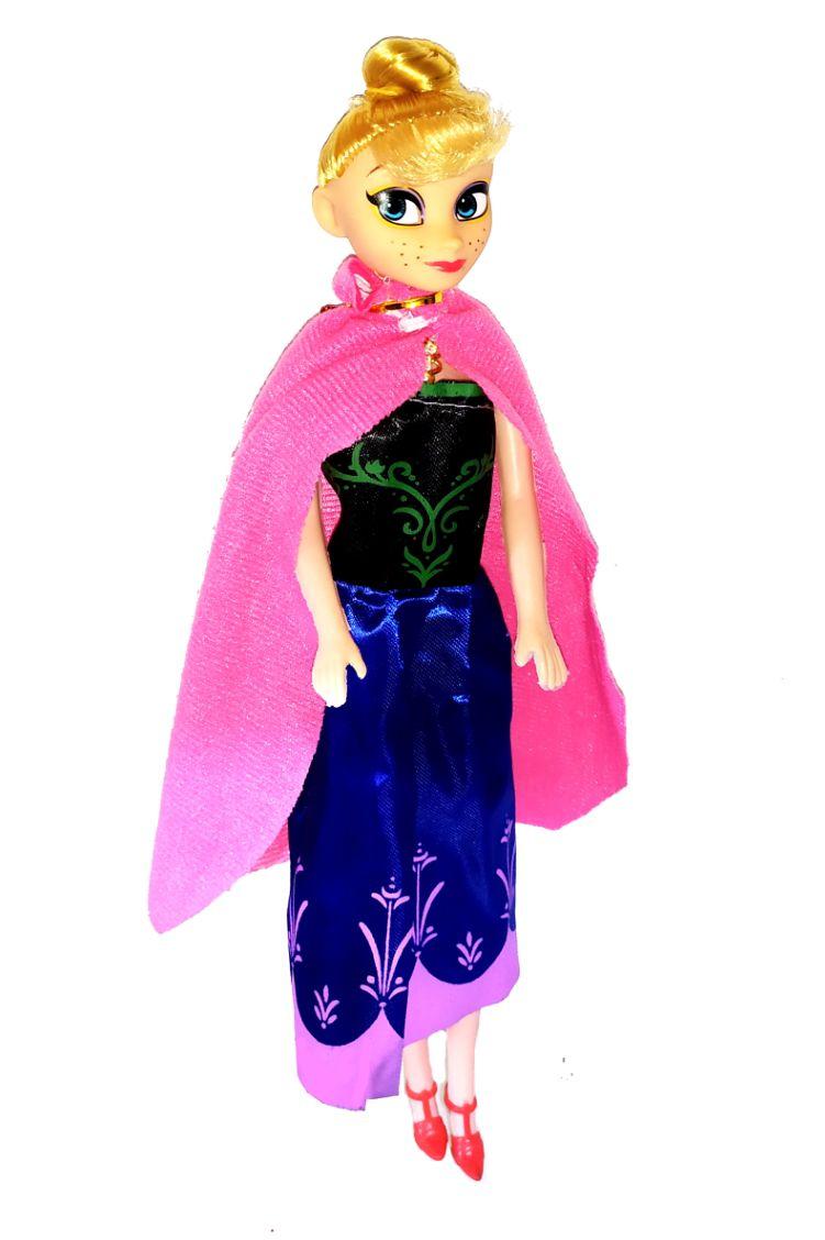 Kit 2 Bonecas Julia Frozen Princesa Elsa E Ana + Acessórios