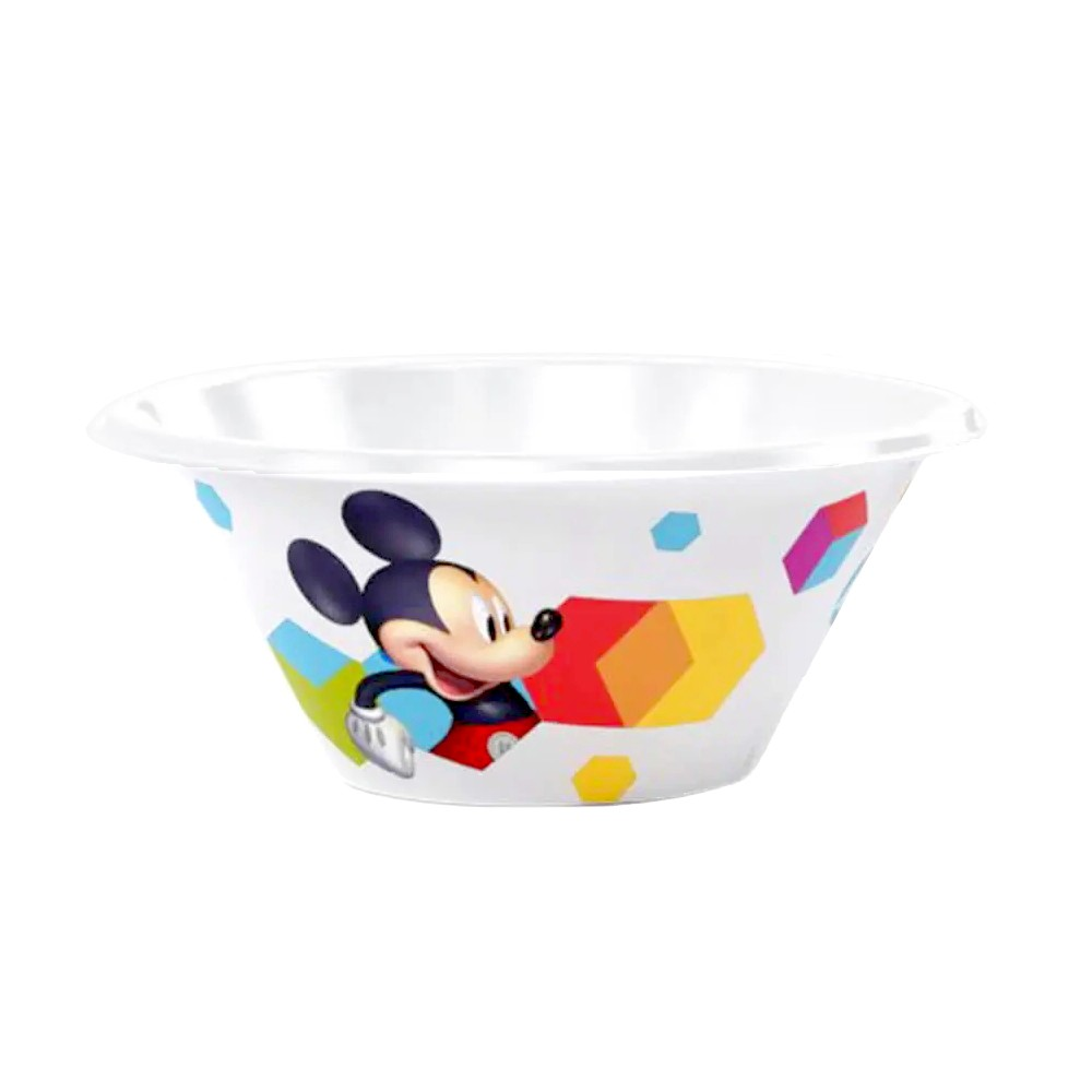 Kit Alimentação Infantil Pratinho com Copo do Mickey Plasútil