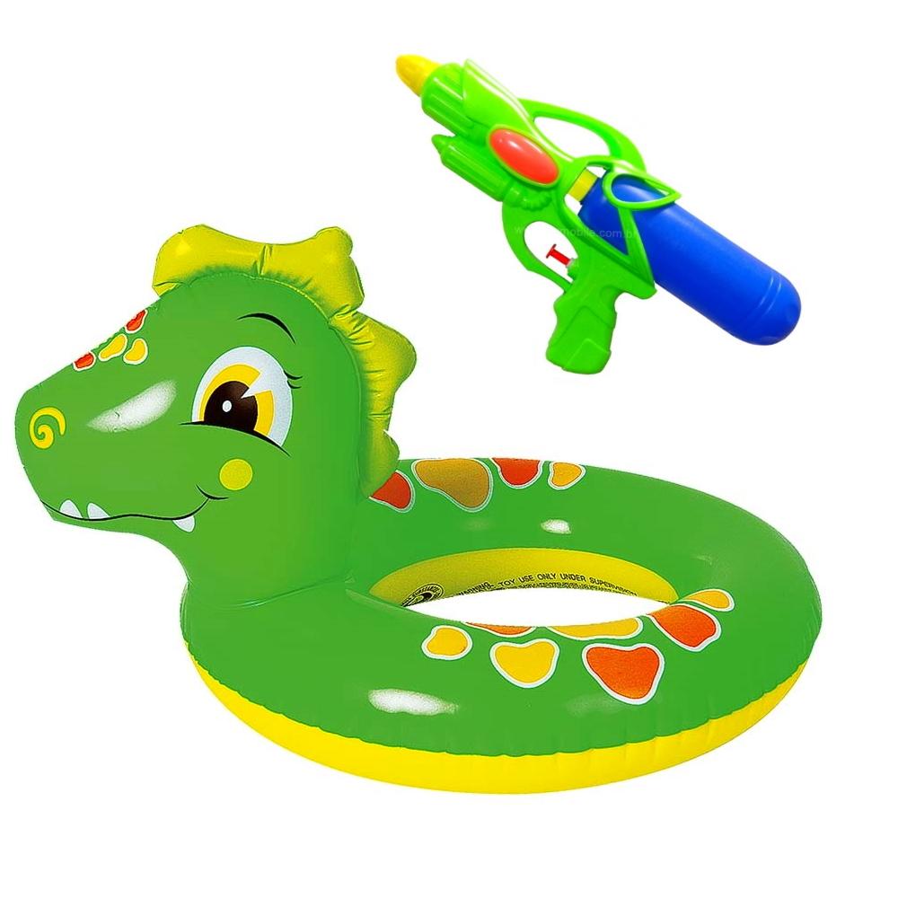Kit Boia Circular Cintura Infantil com Lançador de Água