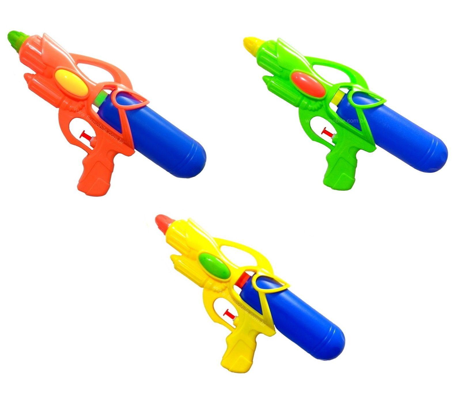 Kit C/2 Super Lançador De Água Flix Water Pistola De Agua