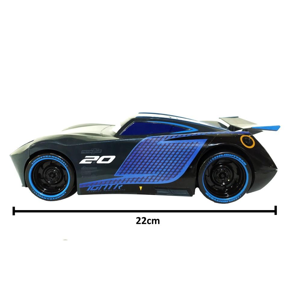Kit Carros Fricção Jackson Storm 22cm com Mate Monster 10cm