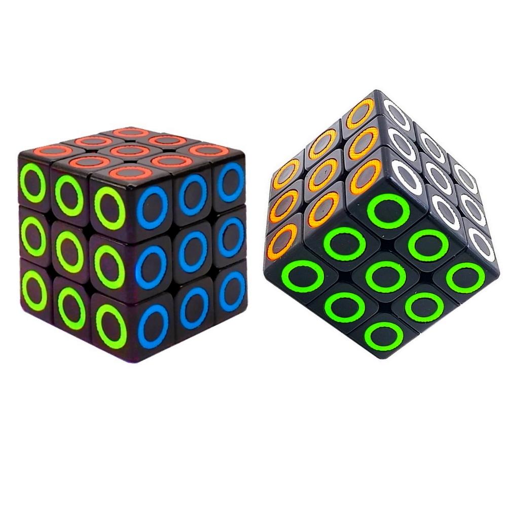 Kit com 2 Cubo Mágico Interativo