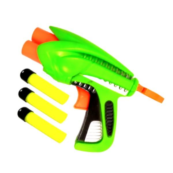 Kit com 2 Pistola Nerf Arma Lança Dardos Arminha de Brinquedo