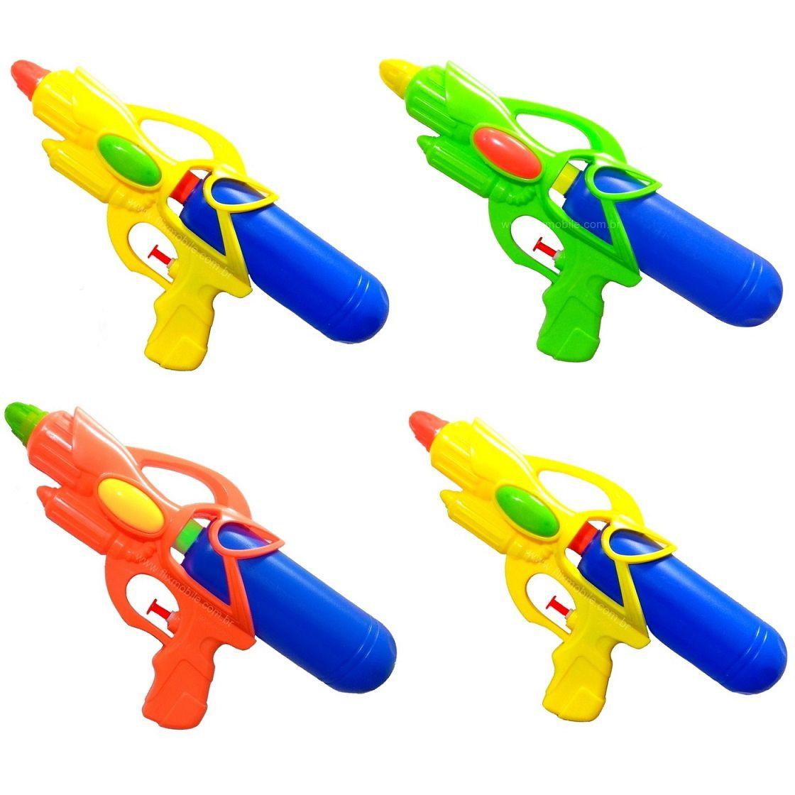 Kit com 3 Pistolas de água Arminha de agua 350ML