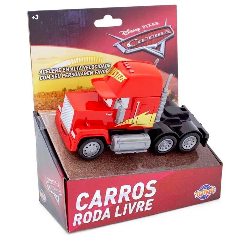 Kit com Cruz Ramirez e Mack Disney Carros Roda Livre 13cm