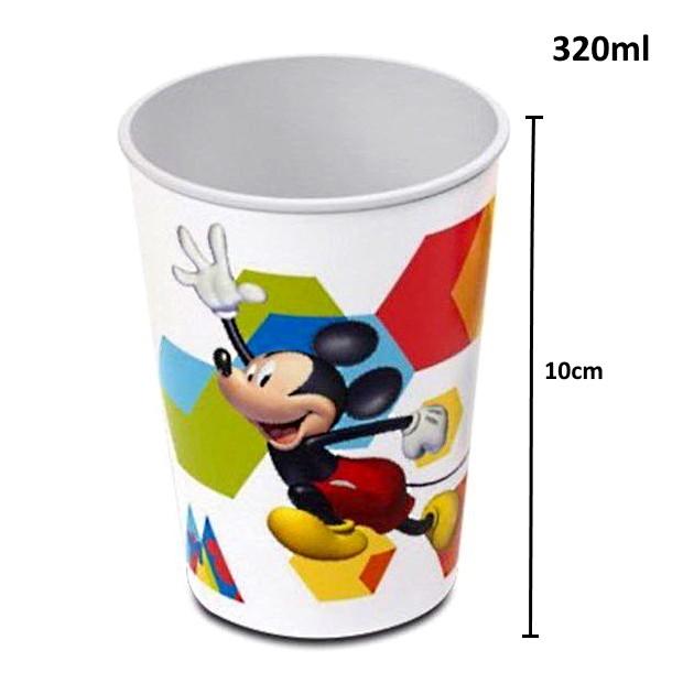Kit Copos da Minnie e Mickey Mouse Premium 320ml