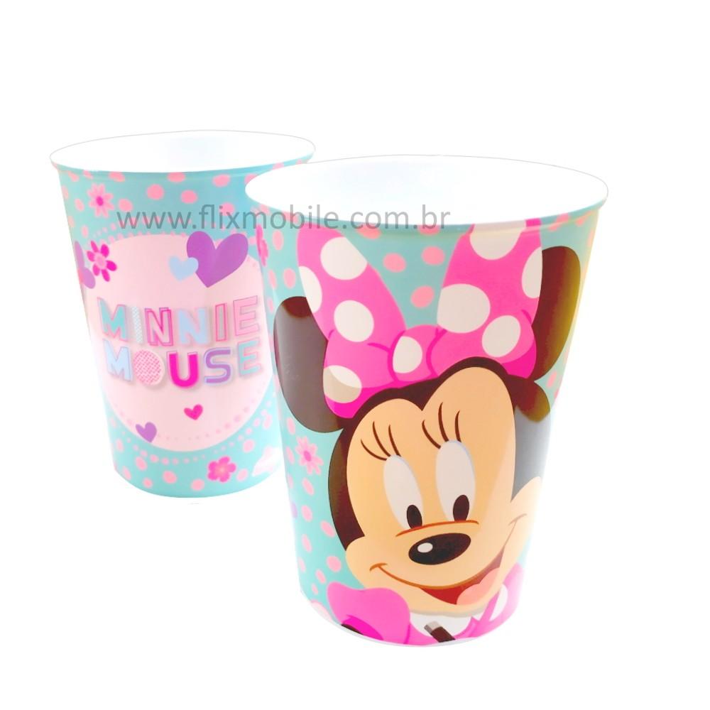 Kit de copos da Minnie para festa 320ml Premium Plasútil - 6 unidades