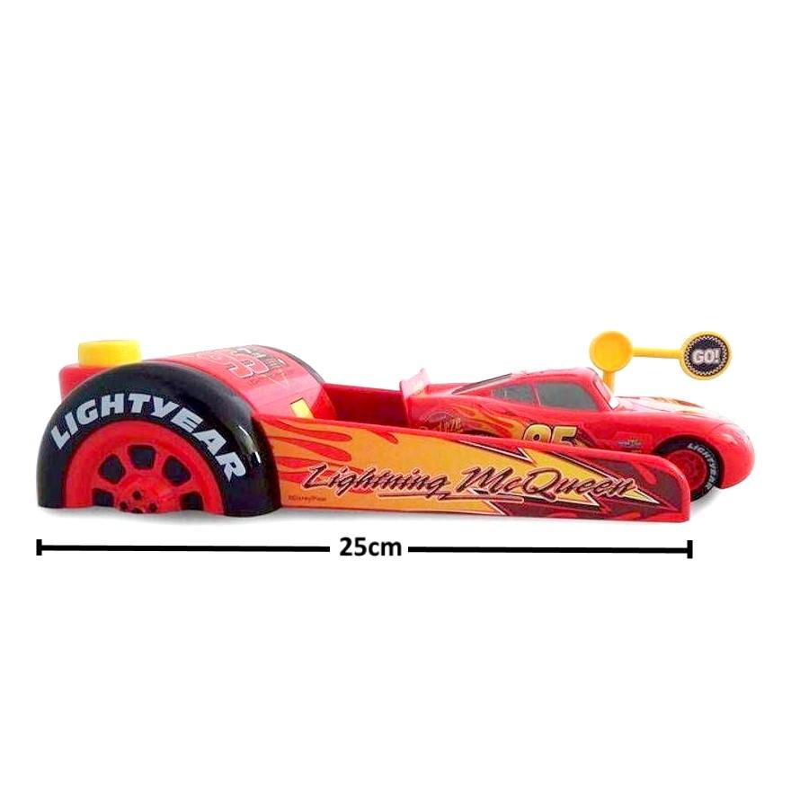 Kit Lançador de Carros com Relâmpago Mcqueen e Mack