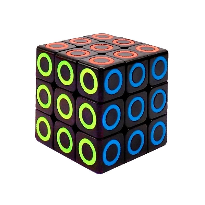 Kit Lógica e Diversão com Cubo Mágico e Quebra-cabeça Paris de 500 Peças 3D