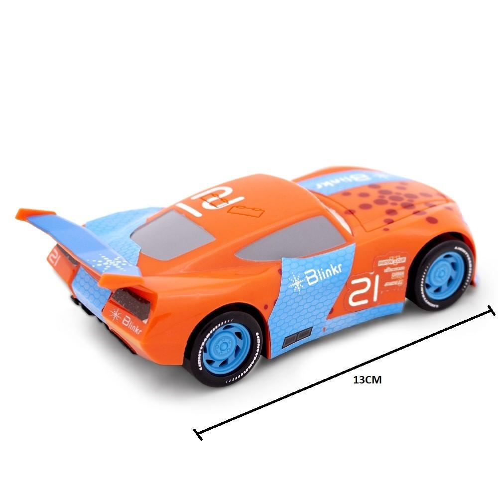 Lançador do Carros Velocidade Máxima com Mcqueen e Blinkr