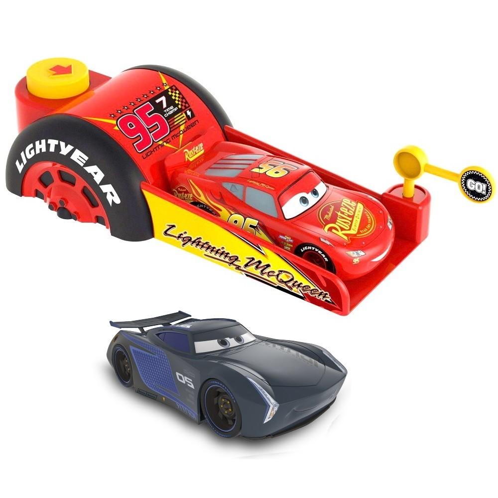 Lançador do Carros Velocidade Máxima com Mcqueen e Jackson