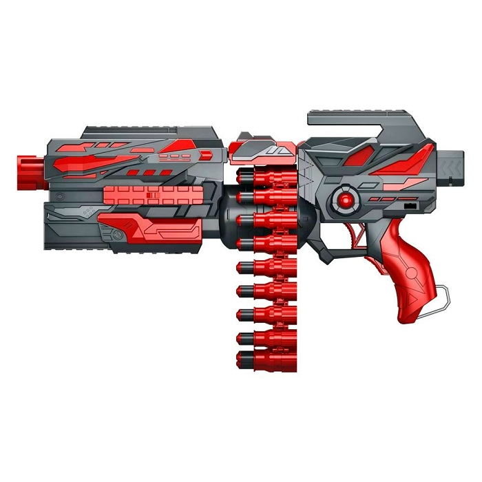 Lançador Super Shot Power Pistola Nerf Profissional Phantom 002 - Dm Toys