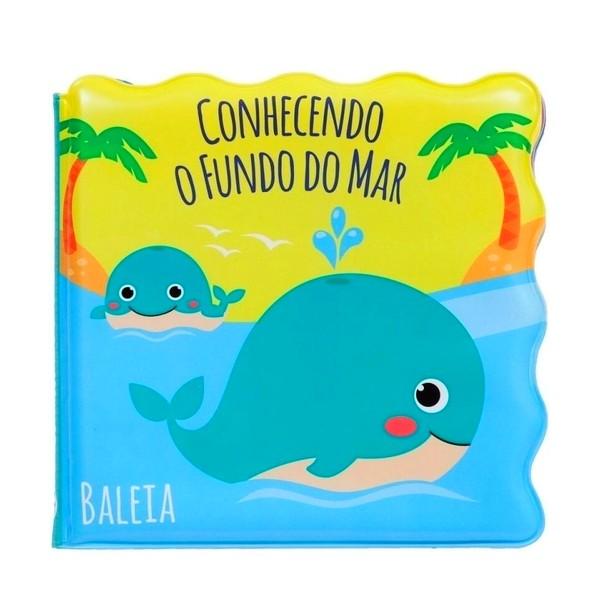 Livro para Banho Fundo do Mar Brinquedo Bebê Premium