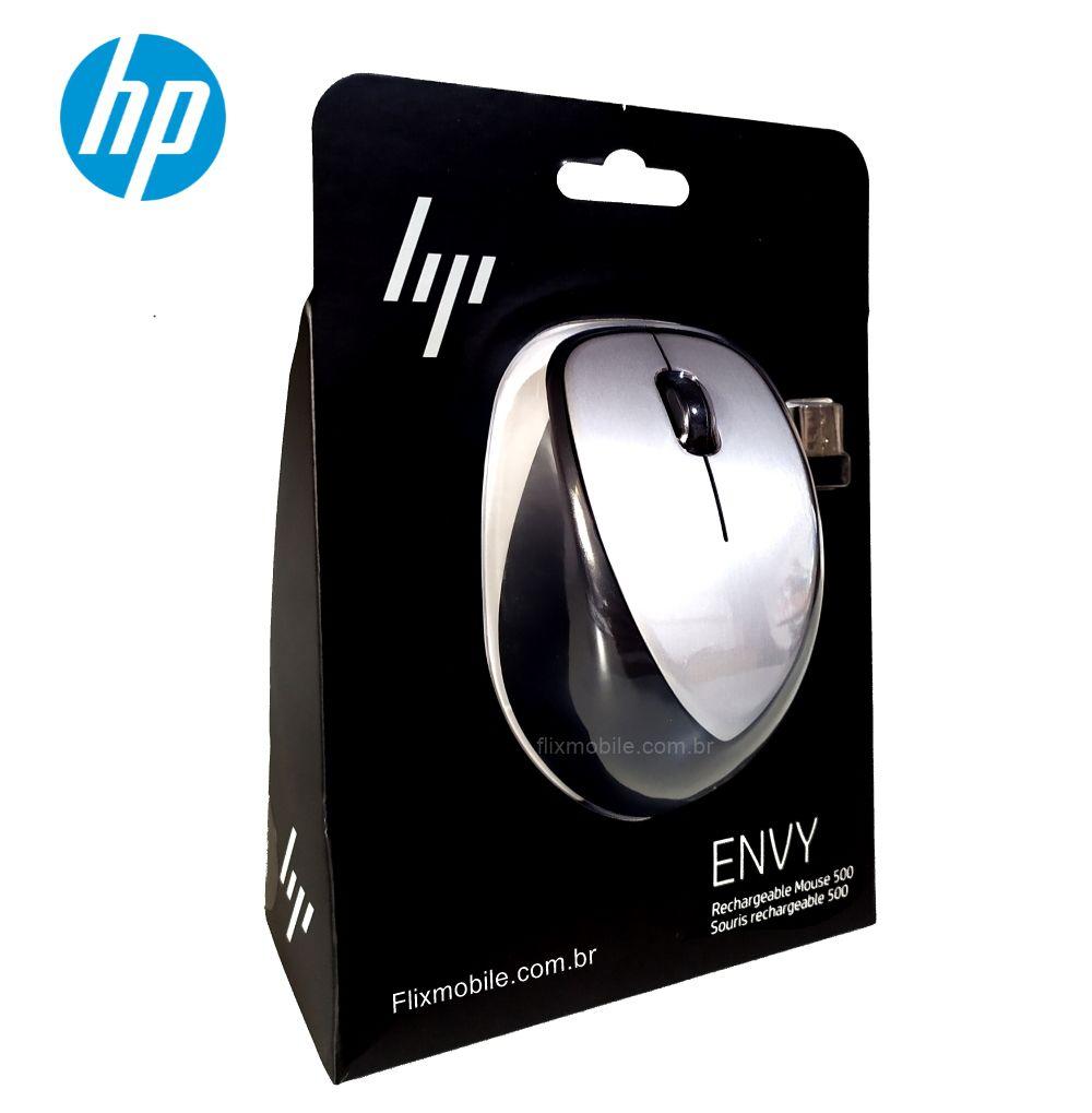 Mouse HP Sem Fio Recarregável ENVY 500 Profissional