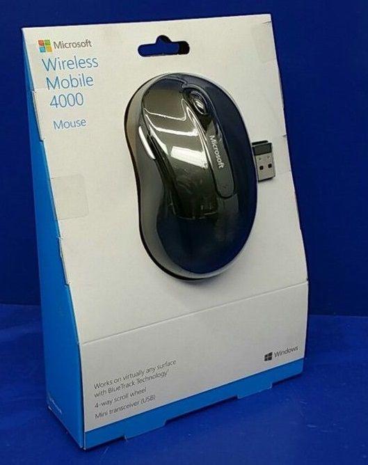 Mouse Sem fio Microsoft 4000 Séries Bluetrack