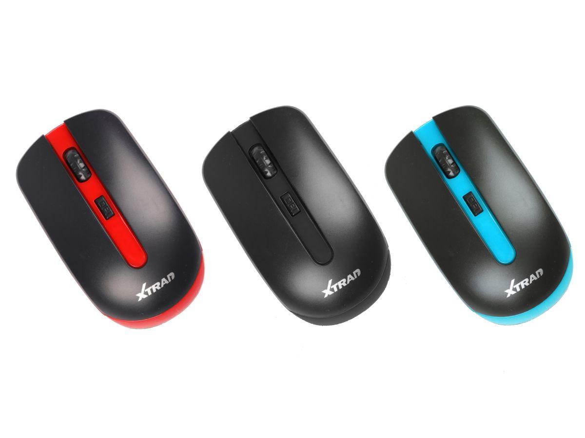 Mouse sem fio Slim 3200 DPI para PC e Notebook
