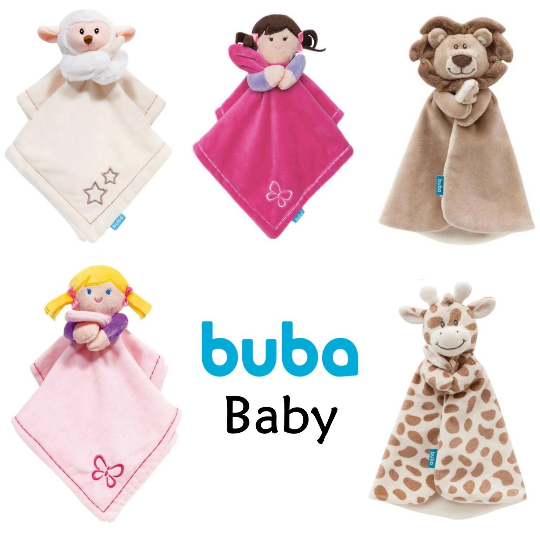 Naninha Bebê Pelúcia Soninho Macia Antialérgica Buba - 1 un