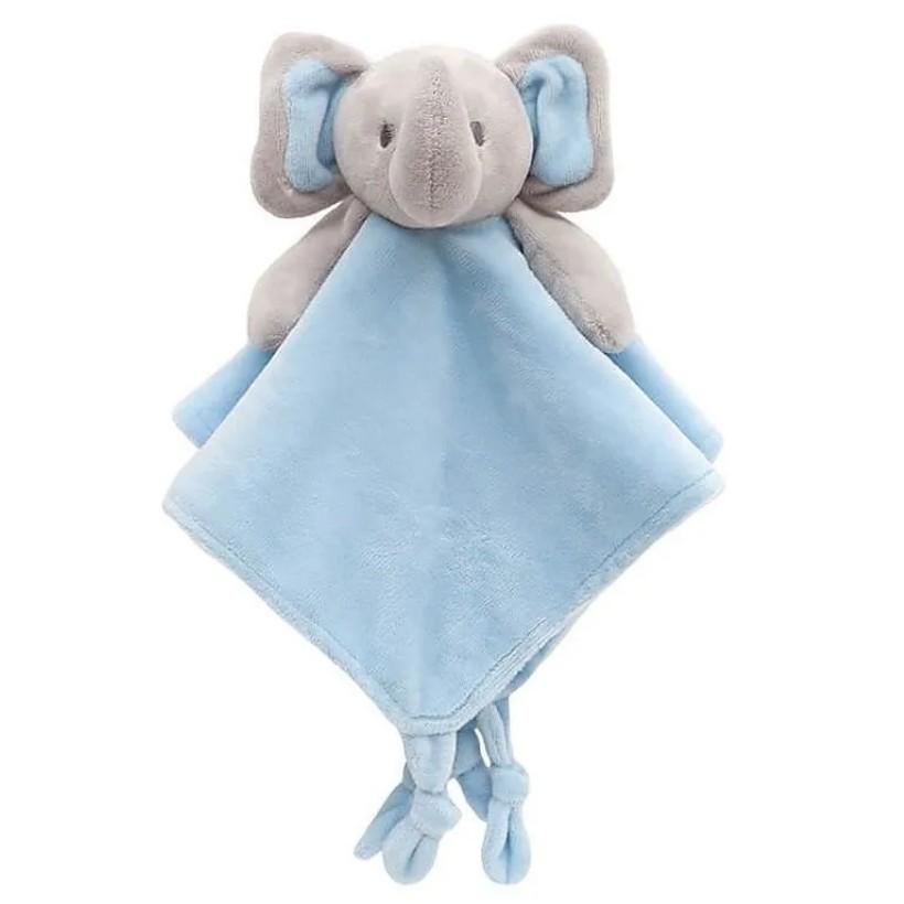 Naninha de Elefantinho Premium Bebê Soninho Buba Baby Azul