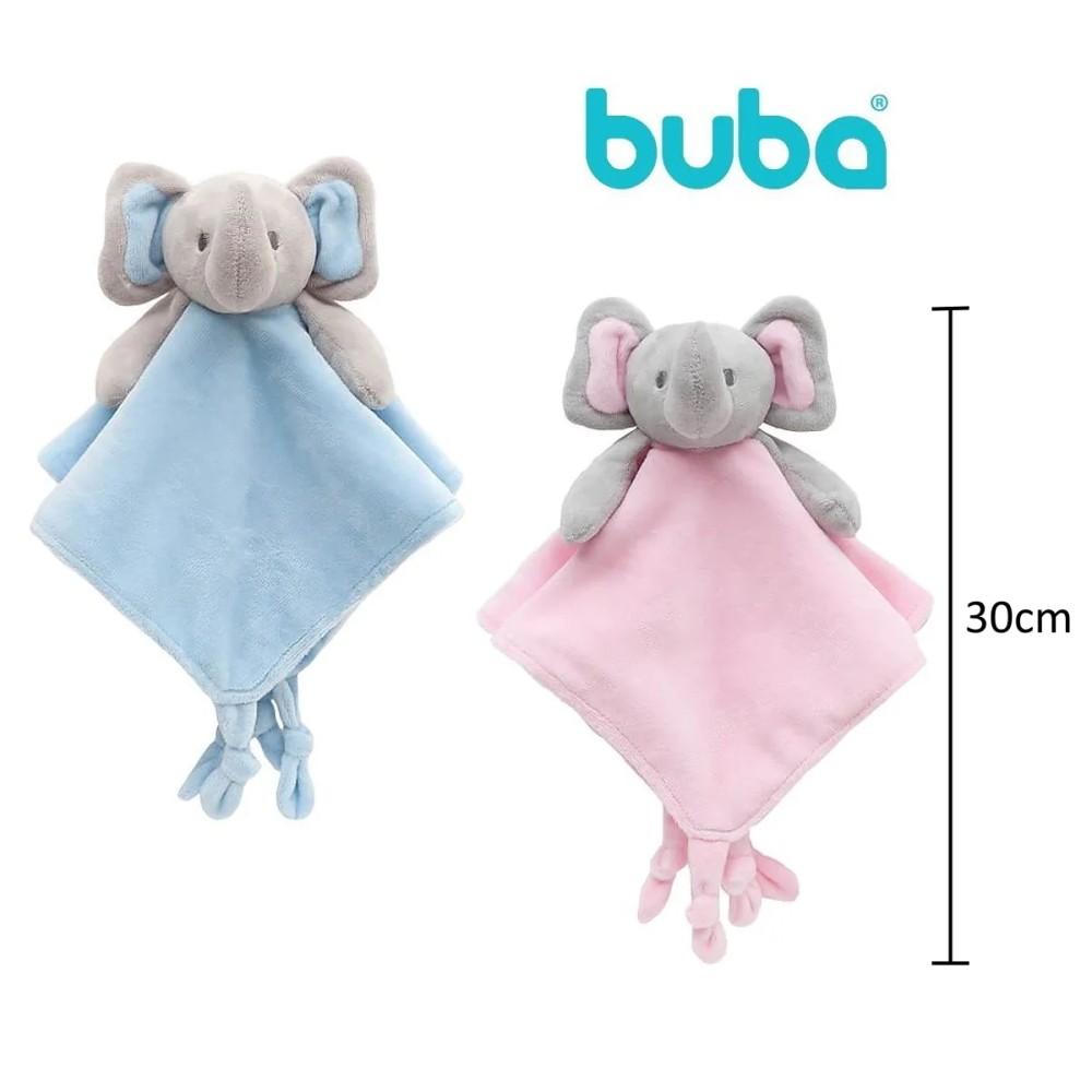 Naninha de Elefantinho Premium Bebê Soninho Buba Baby Rosa