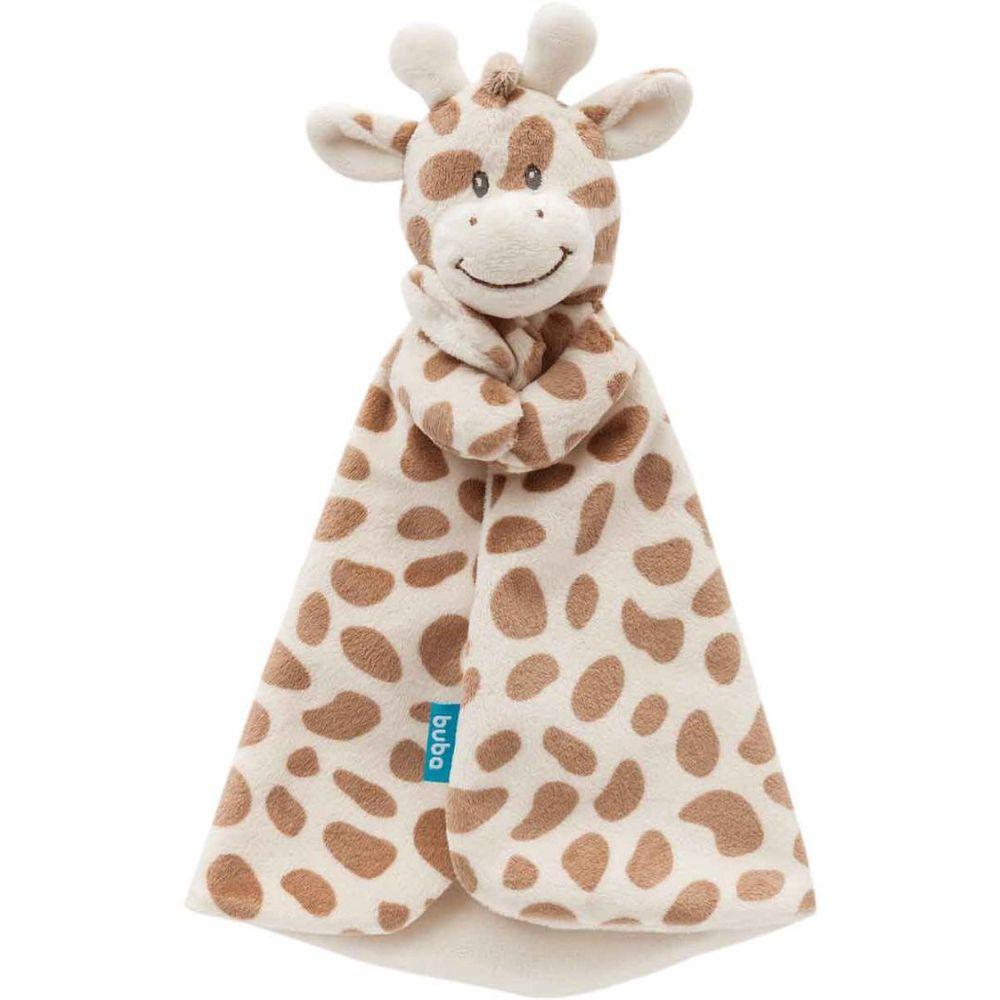 Naninha de Girafinha Pelúcia Bebê Creme Soninho Buba