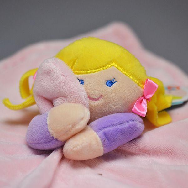 Naninha My Doll Loira Pelúcia Macia Soninho do Bebê