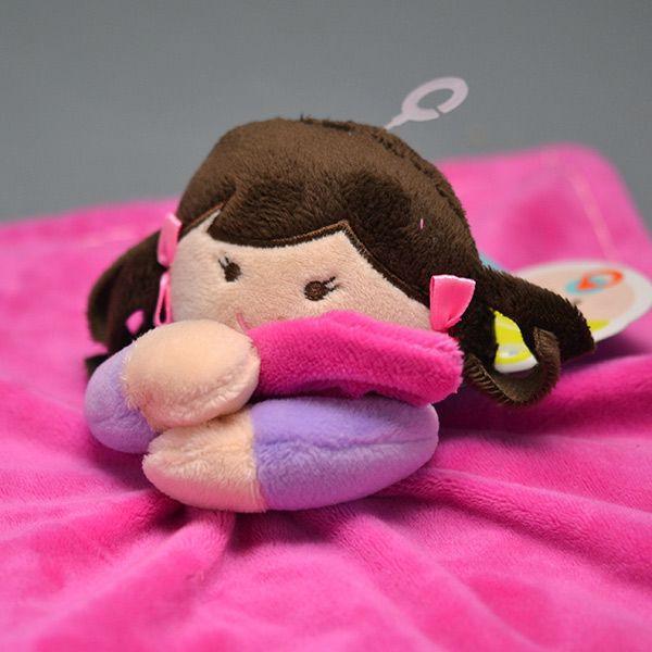 Naninha My Doll Morena Pelúcia Macia Soninho do Bebê