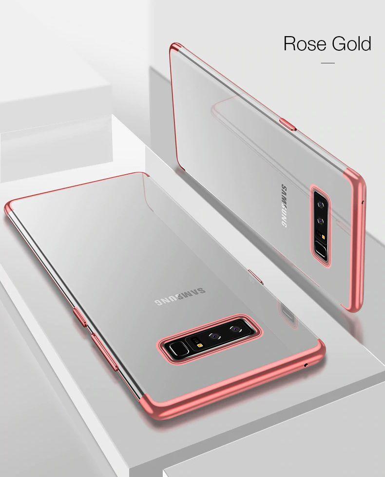Kit com duas Capas para Galaxy Note 8