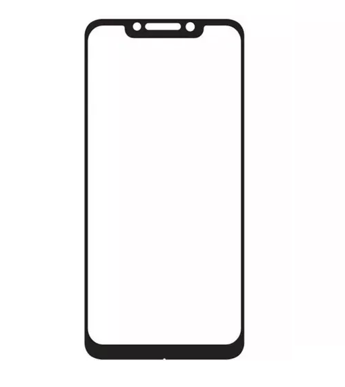 Película 5D de Vidro Borda Preta Xiaomi Pocofone F1