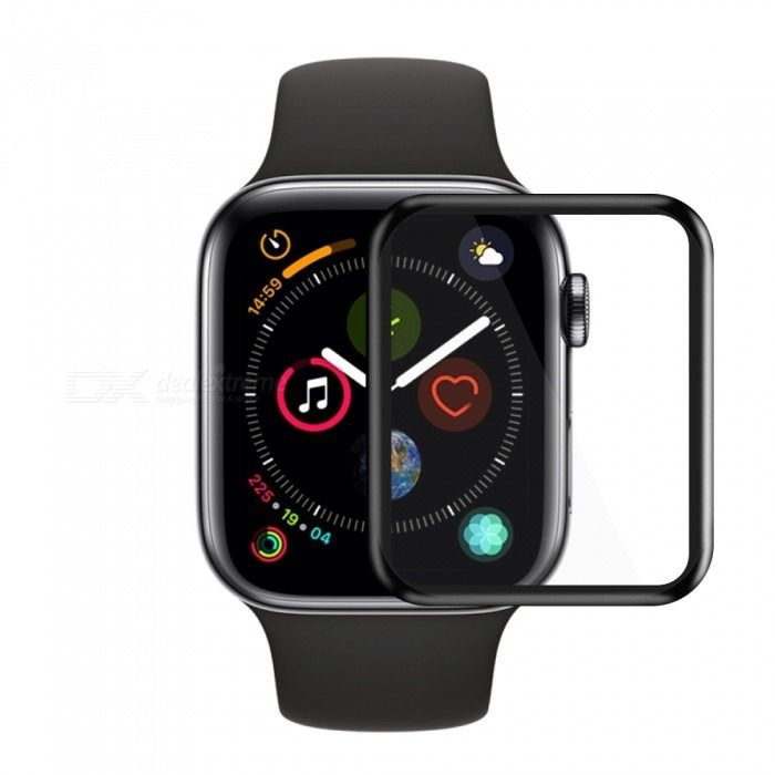 Película de Gel Borda Preta Apple Watch 38mm