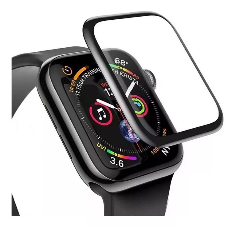 Película de Gel Borda Preta Apple Watch 42mm