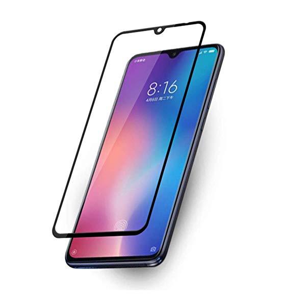 Película de Vidro 3D Borda Preta para Xiaomi Mi 9
