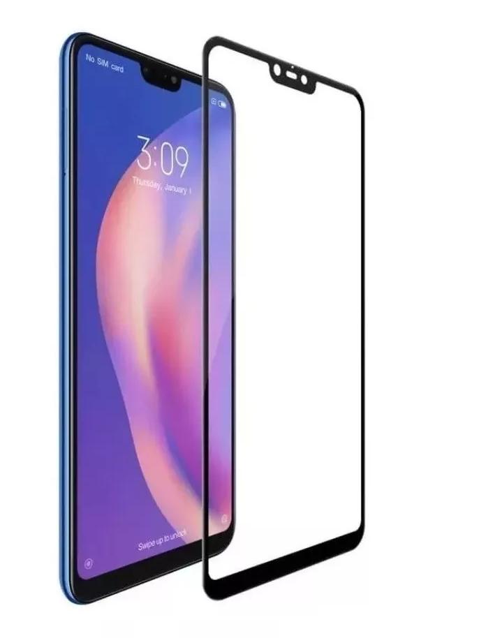 Película de Vidro 5d Borda Preta para Xiaomi Mi 8 Lite